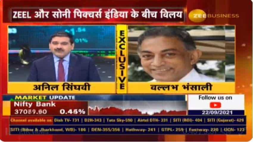 """ZEEL-Sony Deal: Merged entity to be """"super blue-chip company"""", says Enam Group Chairman Vallabh Bhansali; minority shareholders to be biggest gainers"""