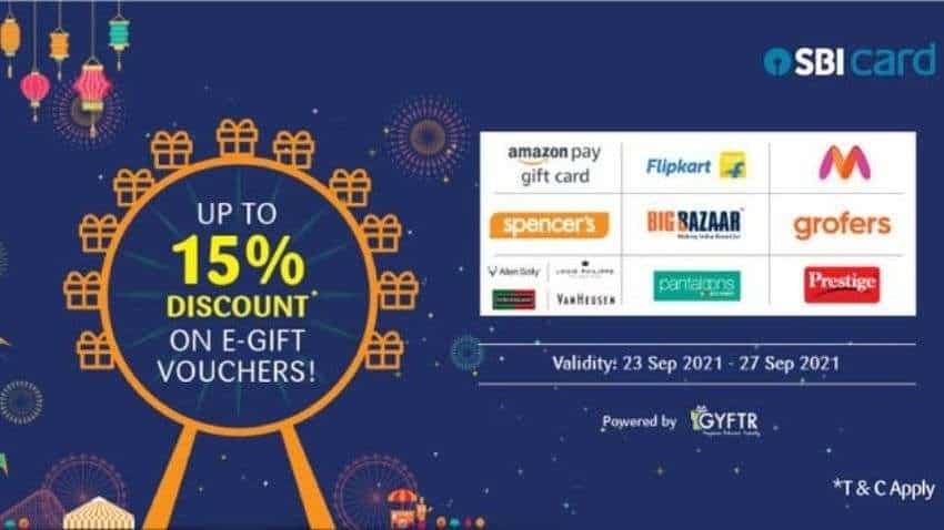 SBI Card Festive Offer: Get up to 15% discount at Myntra, Amazon, Flipkart and others - Check list of brands
