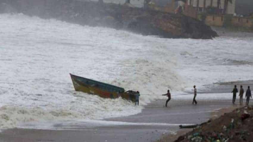 Rain lashes parts of Odisha ahead of cyclone Gulab's landfall