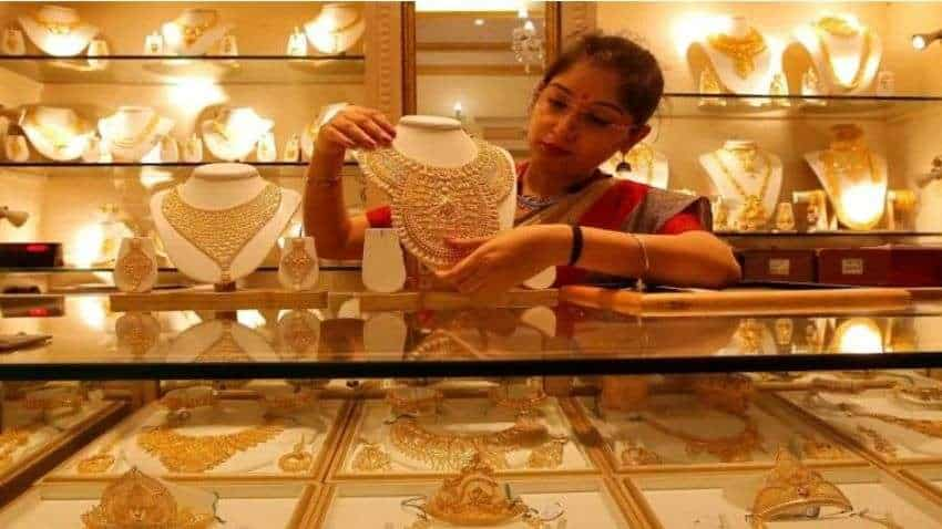Gold Price Today: Yellow metal trades higher; buy on dips for target of 46,220, say experts