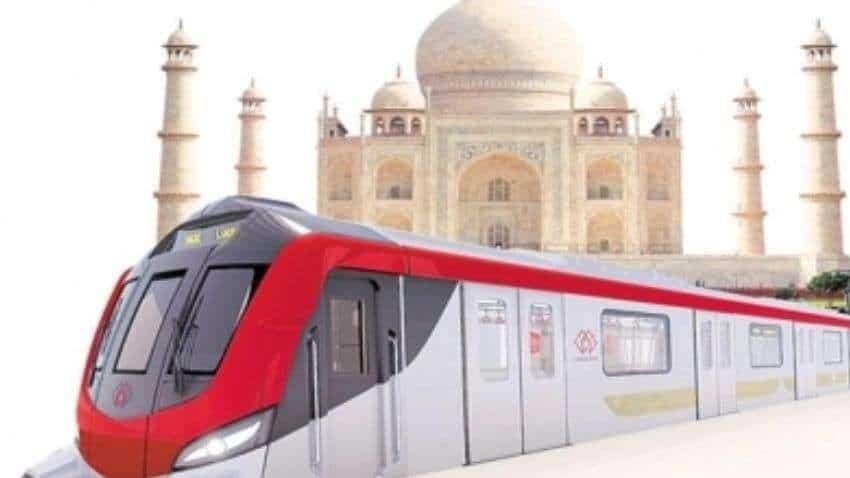 Agra Metro construction work picks up momentum