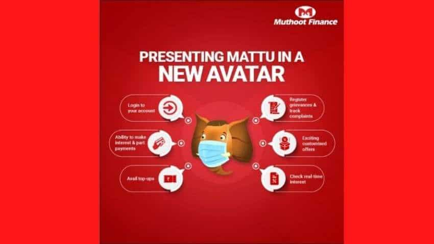 Muthoot Finance launches AI-powered chatbot Mattu to facilitate users with loans, transactions and related concerns