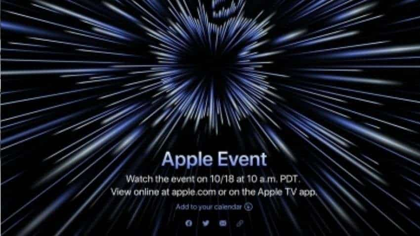 Apple event 2021: New MacBooks, AirPods 3 and more expected to launch on October 18 - check details here