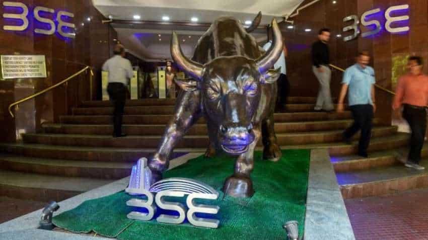Closing Bell! Markets end at record highs; Sensex up 450 pts, Nifty above 18150; Tata Motors surge 21%