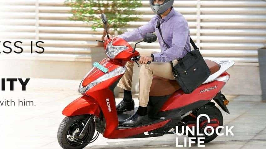 Ampere Electric launches e-scooter Magnus EX at Rs 68,999