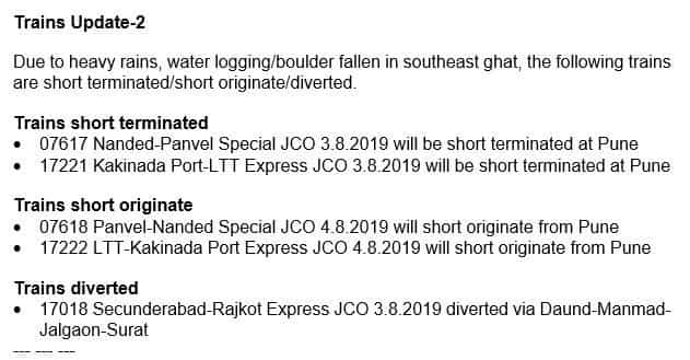 Mumbai Rains train status today: Chaos in city! Central, Western